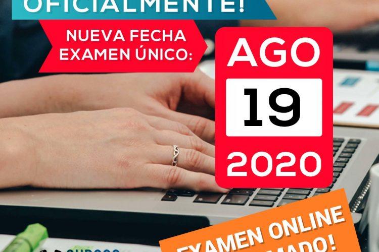 Examen Único Digital y Ubicuo 2020